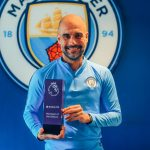 جوارديولا يتوج بجائزة أفضل مدرب بالدوري الإنجليزي