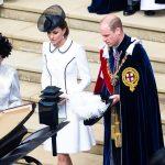 موكب الأمير ويليام وزوجته كيت يصدم سيدة مسنة