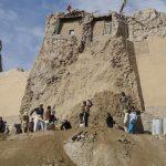 انهيار قلعة أفغانية أثرية تعود تاريخها إلى ألفي عام