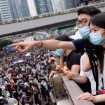 مشاهد فوضى تعم هونج كونج بسبب مشروع قانون تسليم المطلوبين للصين