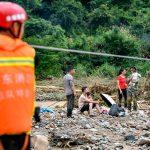 مصرع 19 شخصا في فيضانات جنوب الصين