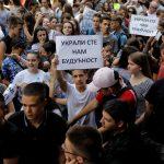 تلاميذ يطالبون باستقالة وزير التعليم الصربي احتجاجا على تسريب امتحان