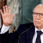 الرئاسة التونسية: السبسي تواصل هاتفيا مع وزير الدفاع
