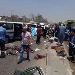 الصحة المصرية: مقتل 14 وإصابة 10 في حادث تصادم