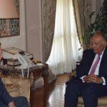 المبعوث الأمريكي جيمس جيفري يبحث في القاهرة سبل حل الأزمة السورية