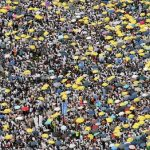 احتجاج الآلاف في هونج كونج على قانون تسليم المتهمين للصين