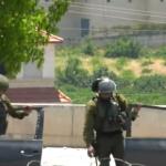 مواجهات بين الفلسطينيين وقوات الاحتلال في بلدة حلحول بالخليل
