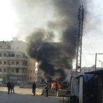 انفجار سيارة مفخخة قرب كنيسة بمدينة القامشلي شمال شرق سوريا