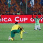 إكونج يصعق جنوب أفريقيا ويقود نيجيريا للمربع الذهبي