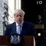 رئيس وزراء بريطانيا يرحب بالحكومة الجديدة