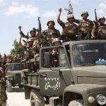 الجيش السوري يزيل المتاريس من على الطريق السريع بين دمشق وحلب