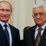عباس يبحث مع بوتين تطورات القضية الفلسطينية
