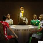 «صلاح النادل».. صورة تثير غضب محبي نجم منتخب مصر