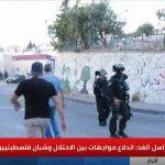 مراسلنا: اندلاع مواجهات عنيفة بين الاحتلال وشبان فلسطينيين في العيساوية