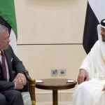 ولي عهد أبو ظبي وملك الأردن يبحثان تعزيز العلاقات بين البلدين