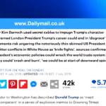 لندن تؤكد دعمها الكامل لسفيرها في واشنطن إثر هجوم ترامب عليه