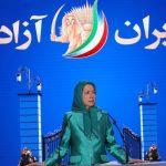 زعيمة المعارضة الإيرانية تدعو للإطاحة بالنظام الحاكم في طهران