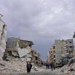مقتل 20 شخصا في ضربات جوية بمدينة شمال غرب سوريا