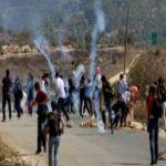 إصابة 20 فلسطينيا في مواجهات مع قوات الاحتلال في كفر قدوم