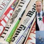 نافذة على الصحافة العالمية: «خنق» سوريا.. الأسطول الأمريكي يصطاد السفن الروسية!!