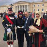 غادة الطميزي.. أول فلسطينية تتخرج من الجامعة الملكية العسكرية البريطانية