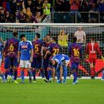 في غياب ميسي.. برشلونة يفوز على نابولي