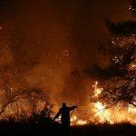 الطائرات تشارك في إخماد حريق جزيرة إيفيا اليونانية ولا خطر على السكان