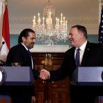الحريري يأمل في صدور قرار نهائي بشأن الحدود البحرية مع إسرائيل