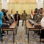 أعضاء المجلس السيادي السوداني يؤدون اليمين الدستورية