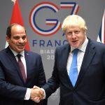 على هامش قمة السبع.. جونسون يؤكد للرئيس السيسي على عزم حكومته الارتقاء في العلاقات مع مصر