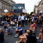 اعتقال 36 شخصا خلال تظاهرة ضد اجراءات الحجر في لندن