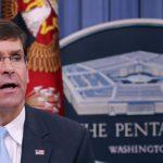 وزير الدفاع الأمريكي : لدينا إمكانات كافية بالشرق الأوسط حاليا