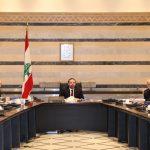 اجتماع الحكومة اللبنانية بعد حل أزمة سياسية