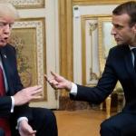ترامب يتهم ماكرون بإرسال «إشارات متضاربة» إلى إيران