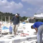 مراسلنا: قوات الاحتلال قامت بتدمير مشروع تأهيل ساحة الموقع الأثري بنابلس
