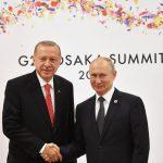 الرئاسة التركية: أردوغان يزور روسيا الثلاثاء القادم