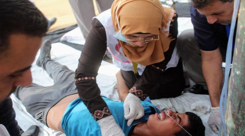 العمل الإنساني طريق نساء غزة للاندماج في الحياة – قناة الغد