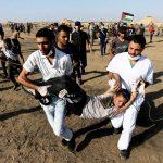 إصابة 5 فلسطينيين جراء قمع الاحتلال لمسيرات العودة شرق غزة