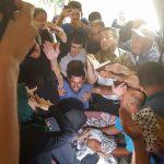 بالزغاريد والورود.. فلسطينيون يشيعون جثمان تامر السلطان في غزة