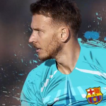 نيتو حارس برشلونة يغيب لشهرين بعد جراحة في المعصم