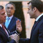 ماكرون وملك الأردن يعربان عن قلقهما بشأن التهديد الإسرائيلي بضم أراض فلسطينية