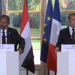 حمدوك يطلب مساعدة فرنسا في رفع اسم السودان من قائمة الإرهاب