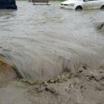 سيول وفيضانات تجتاح العاصمة الجزائرية