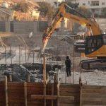 الاحتلال يهدم بنايتين سكنتين في القدس المحتلة