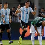 مارتينيز يسجل ثلاثية في فوز الأرجنتين 4-صفر على المكسيك