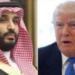 ترامب يبحث هاتفيًا مع ولي العهد السعودي سبل دعم الاستقرار في المملكة