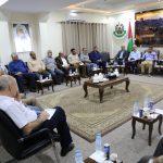 تفاصيل لقاء الفصائل الفلسطينية مع الوفد الأمني المصري