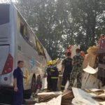 مصرع وإصابة 74 شخصا بسبب خروج حافلة عن مسارها في الصين