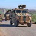 المرصد: دخول رتل عسكري جديد من تركيا إلى شمال سوريا