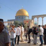 الأوقاف الإسلامية: 190 مستوطنا يقتحمون باحات الأقصى